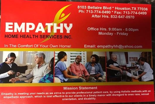 Empathy Home Health Service Inc